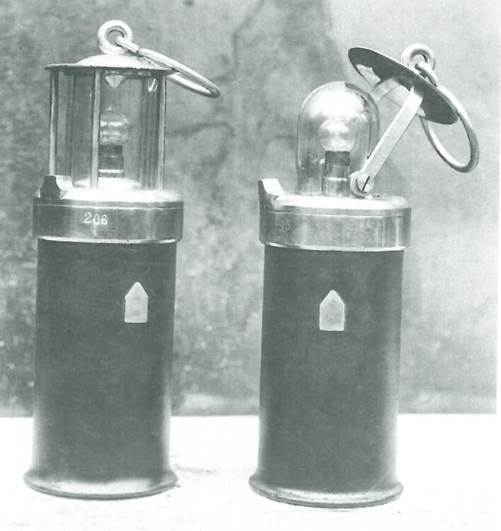 Started a production of the first electrical miner lamps with lead acid accumulators