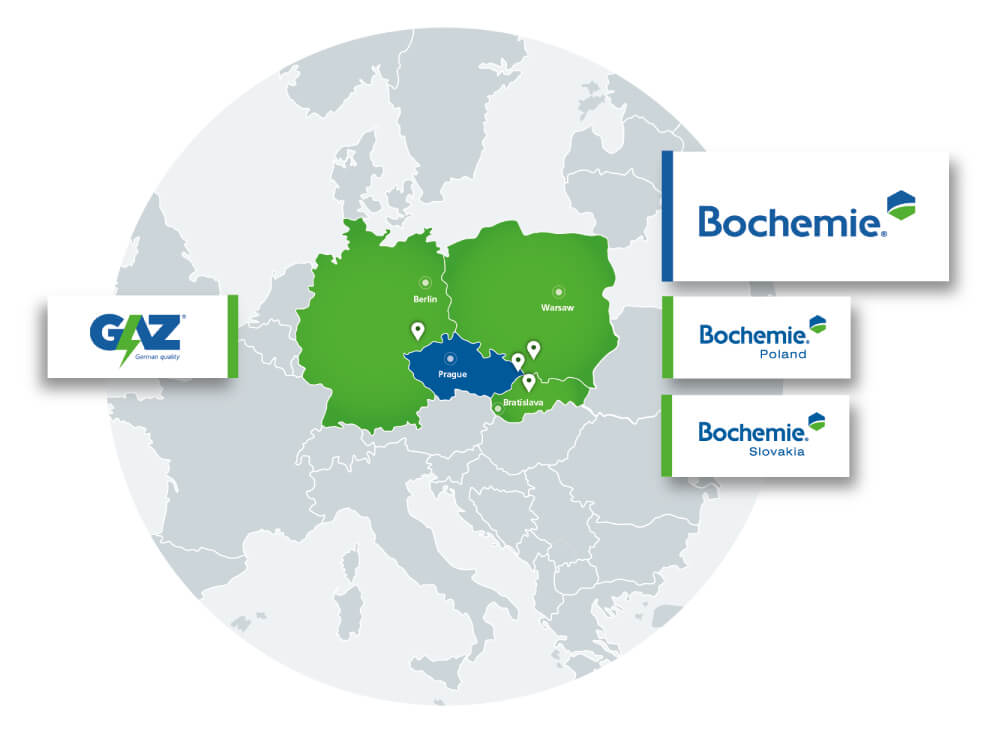 Acquired by Bochemie, a.s., Czech Republic, globally-recognized manufacturer of battery materials